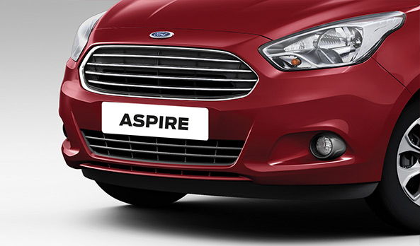 FIGO ASPIRE CHROME FINISH, FRONT GRILLE