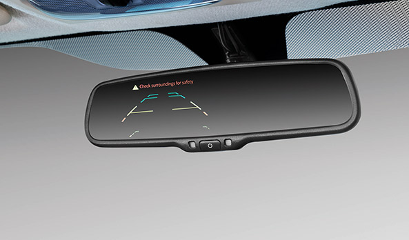 Rear view mirrors camera